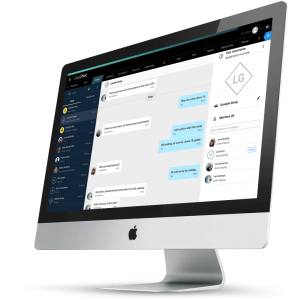 SeaChat. Desktop App. Secure Instant Messaging Shipping